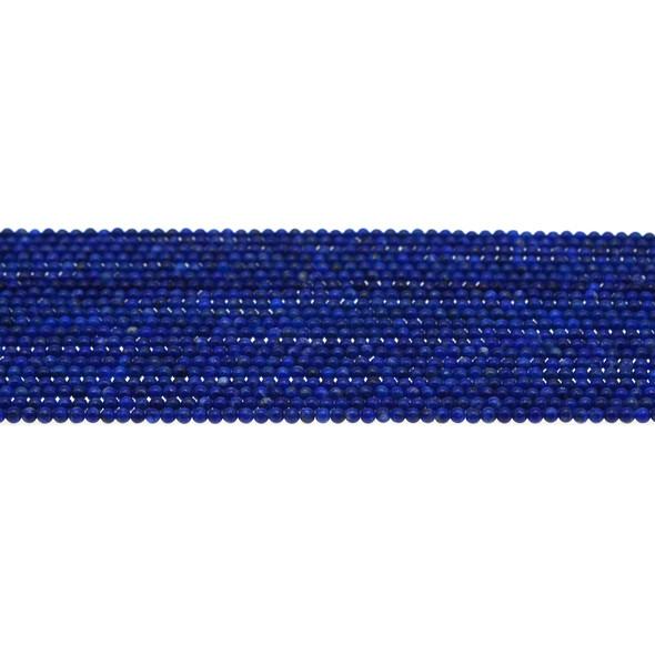 Natural Lapis Round 2mm - Loose Beads