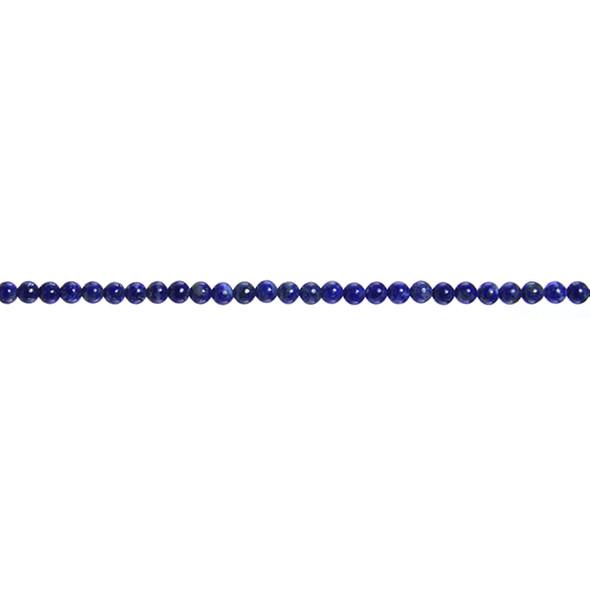 Natural Lapis Round 3mm - Loose Beads
