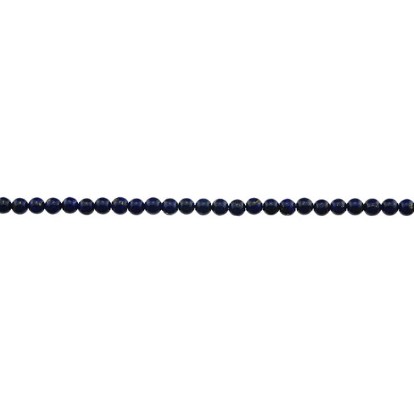 Natural Lapis A Round 4mm - Loose Beads
