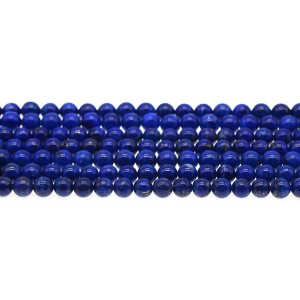 Natural Lapis AA Round 6mm - Loose Beads