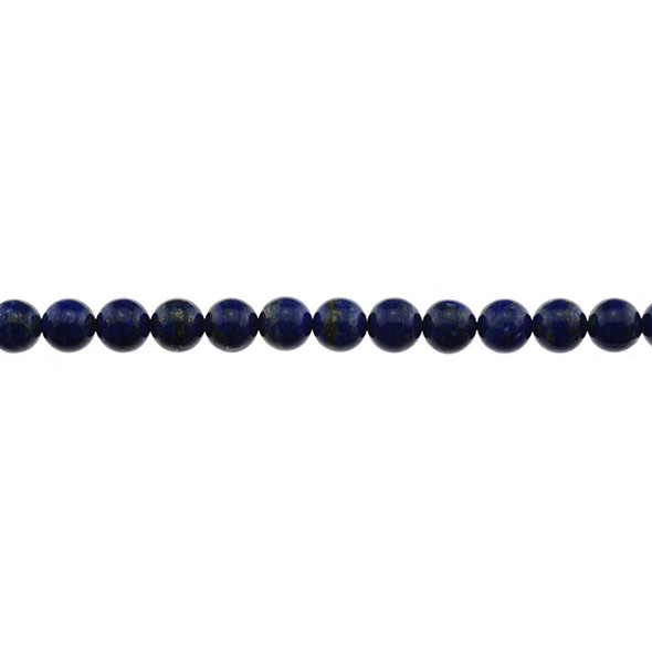 Natural Lapis A Round 8mm - Loose Beads