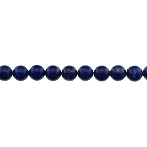 Natural Lapis A Round 10mm - Loose Beads