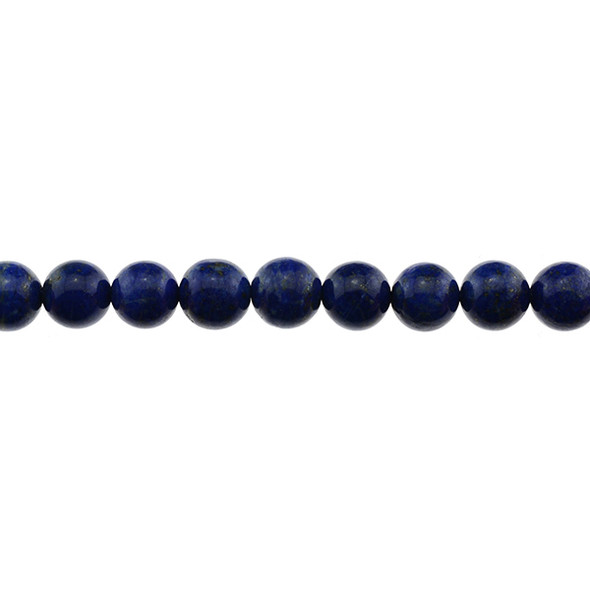 Natural Lapis A Round 12mm (11mm~12mm) - Loose Beads