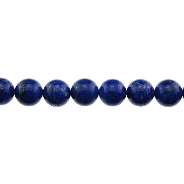 Natural Lapis A Round 14mm - Loose Beads