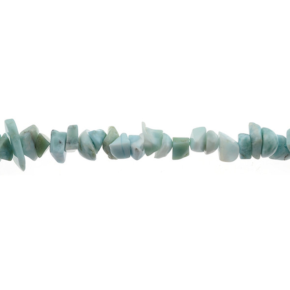 Larimar Chips 7mm x 7mm x 5mm - Loose Beads