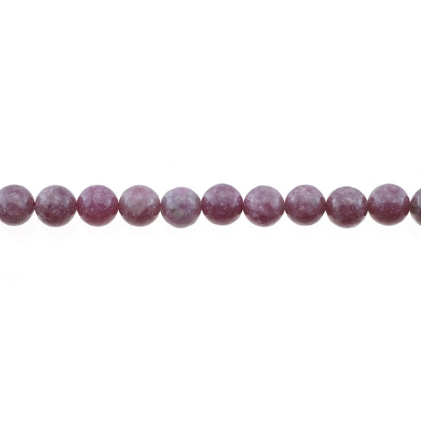 Lepidolite Round 8mm - Loose Beads