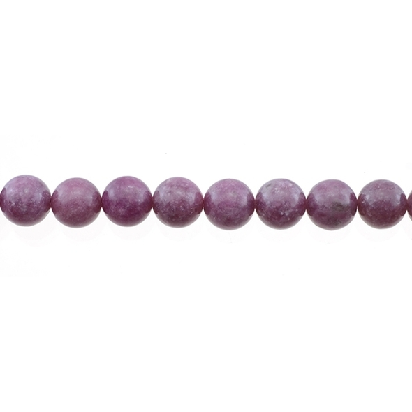 Lepidolite Round 10mm - Loose Beads