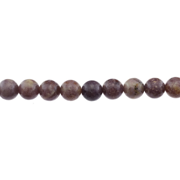Lepidolite AB Round 10mm - Loose Beads