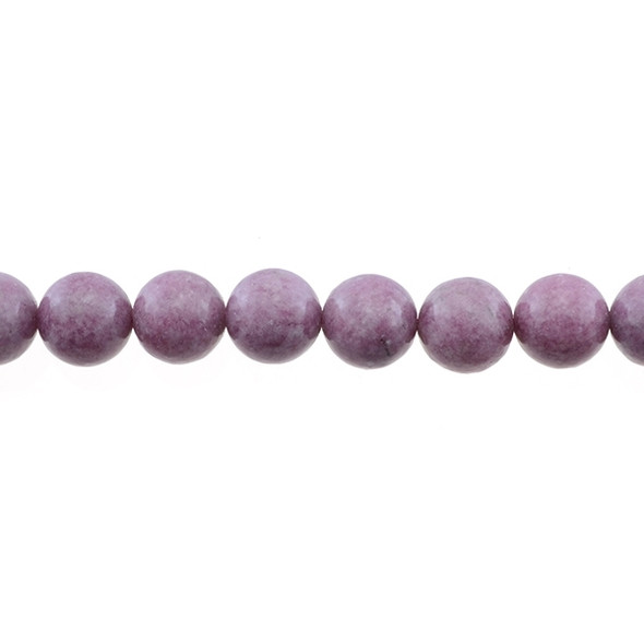 Lepidolite Round 12mm - Loose Beads