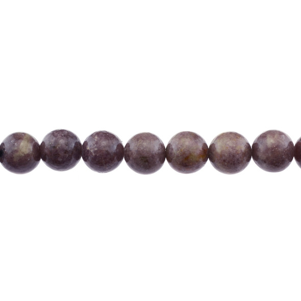 Lepidolite AB Round 12mm - Loose Beads