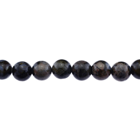 Llanite Round 12mm - Loose Beads