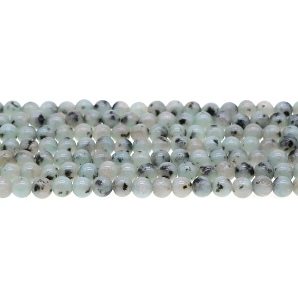 Lotus Jasper Round 6mm - Loose Beads