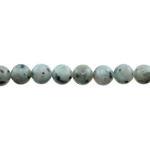 Lotus Jasper Round 10mm - Loose Beads