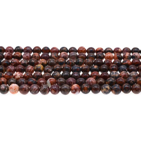 Leopard Skin Jasper Round 6mm - Loose Beads