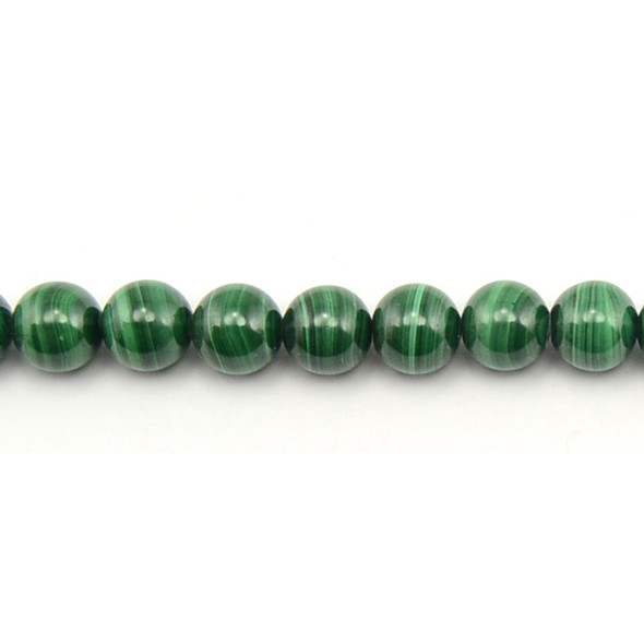 Malachite Round 10mm - Loose Beads