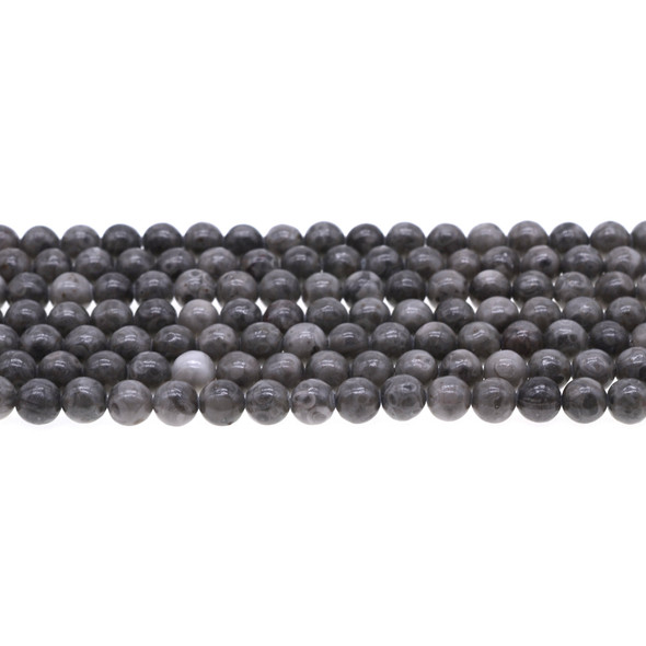Maifanite Maifan Stone Round 6mm - Loose Beads