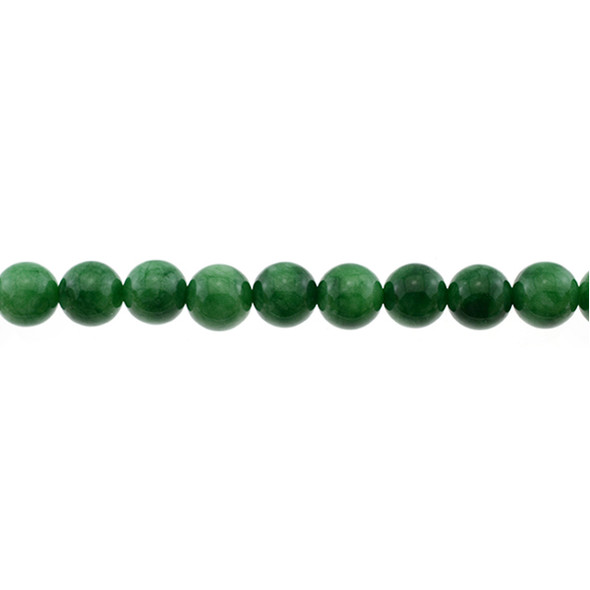 Multi-Colored Green Jade Round 10mm - Loose Beads