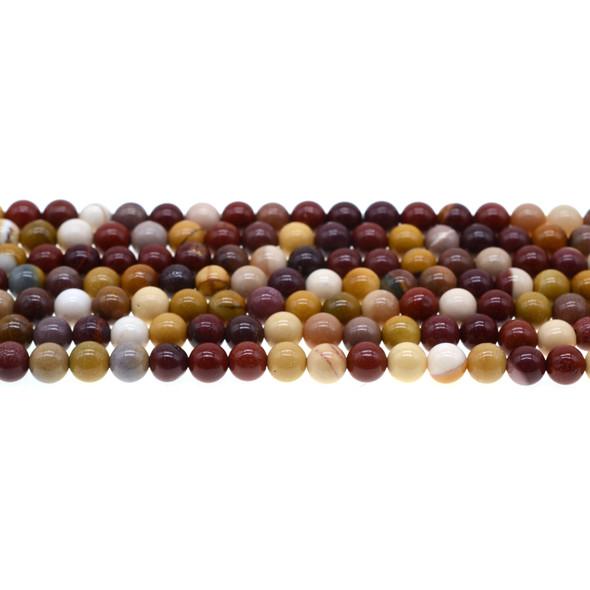 Mookaite Jasper Round 6mm - Loose Beads