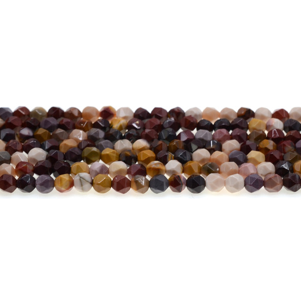 Mookaite Jasper Round Large Cut 6mm - Loose Beads