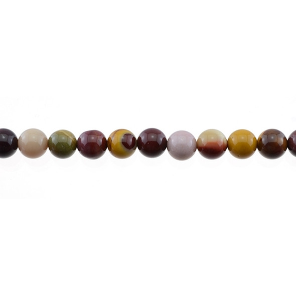 Mookaite Jasper Round 8mm - Loose Beads