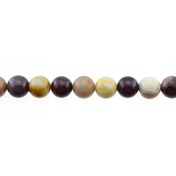 Mookaite Jasper Round 10mm - Loose Beads