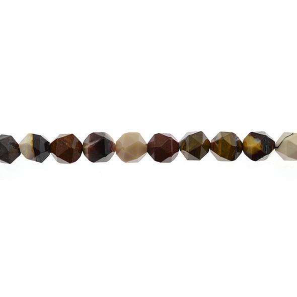 Mookaite Jasper Round Large Cut 10mm - Loose Beads