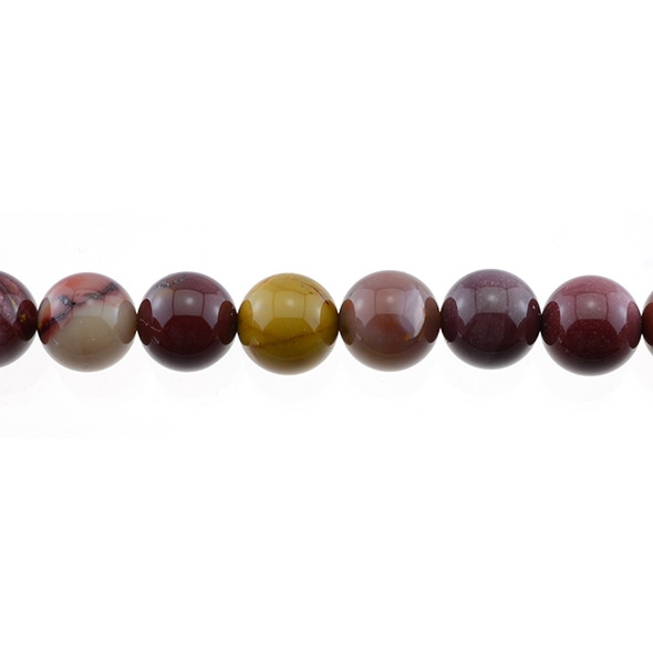 Mookaite Jasper Round 12mm - Loose Beads