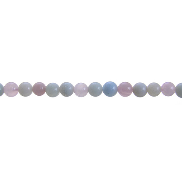 Morganite Round 6mm - Loose Beads