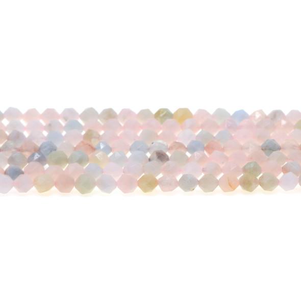 Morganite Round Large Cut 6mm - Loose Beads