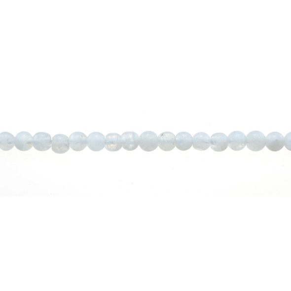 White Moonstone Round 4mm - Loose Beads