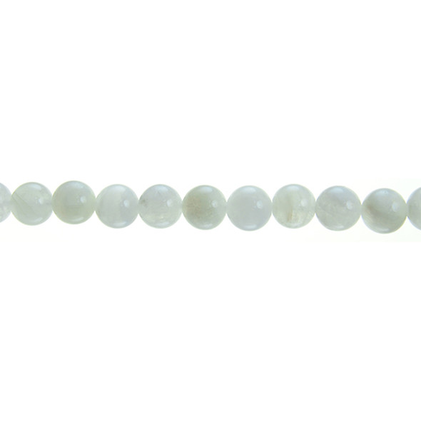 White Moonstone Round 8mm