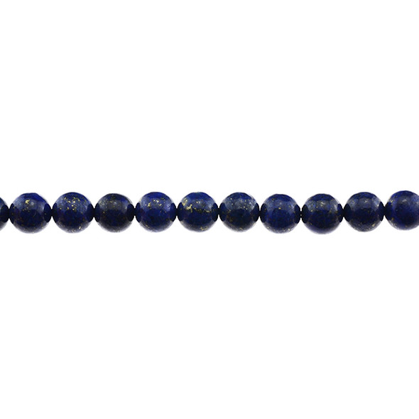 New Colored Enchanced Lapis Lazuli Round 8mm - Loose Beads