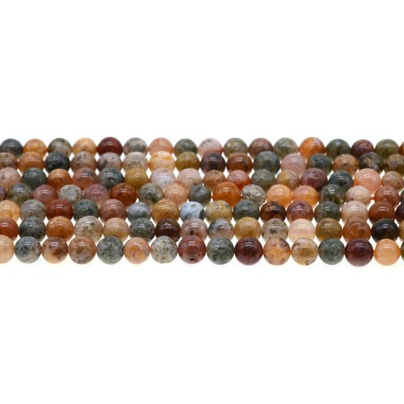 New Ocean Agate Jasper Round 6mm - Loose Beads
