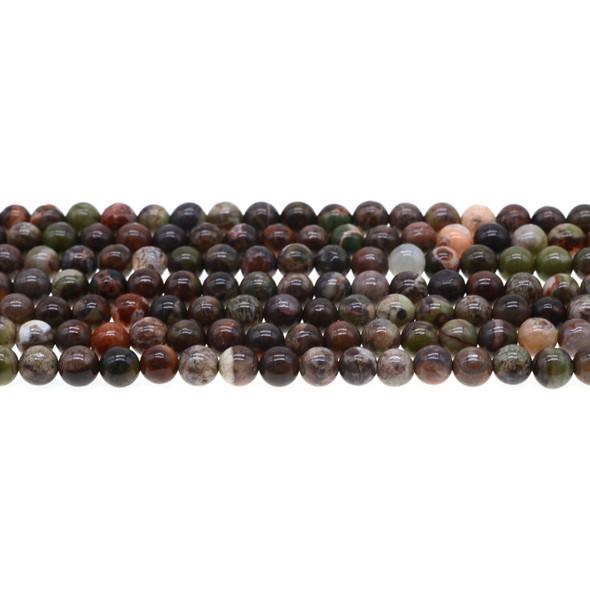 Ocean Jasper Round 6mm - Loose Beads