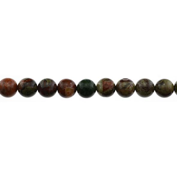 Ocean Jasper Round 10mm - Loose Beads