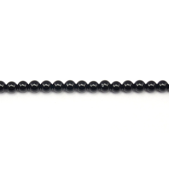 Black Onyx Round 5mm - Loose Beads