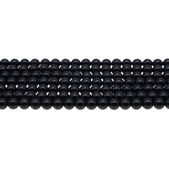 Black Onyx Round 6mm - Loose Beads