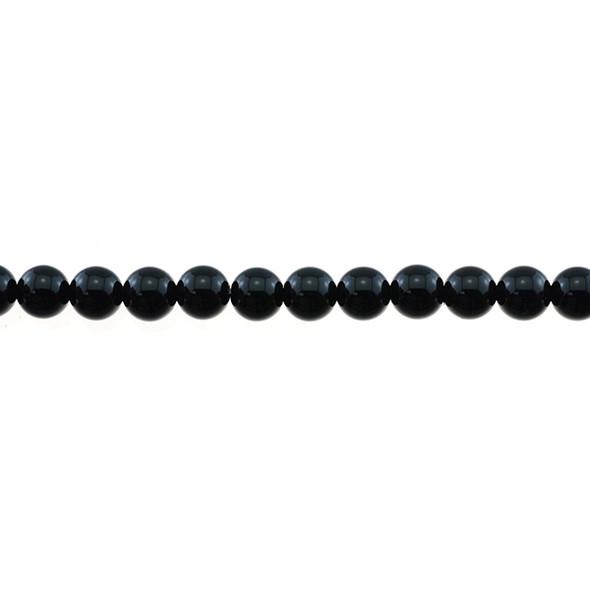 Black Onyx Round 7mm - Loose Beads