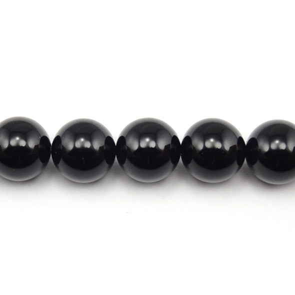 Black Onyx Round 16mm - Loose Beads