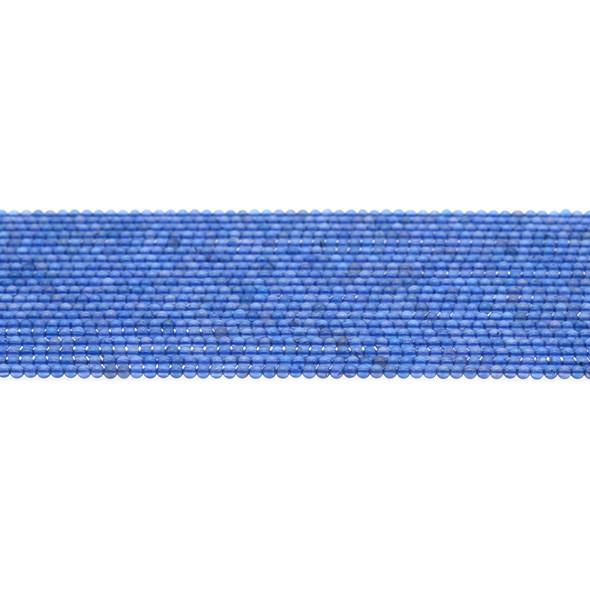 Blue Onyx Round 2mm - Loose Beads