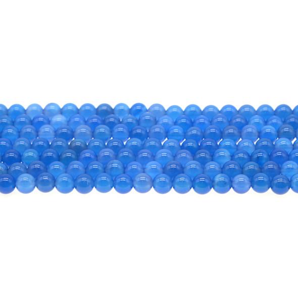 Blue Onyx Round 6mm - Loose Beads