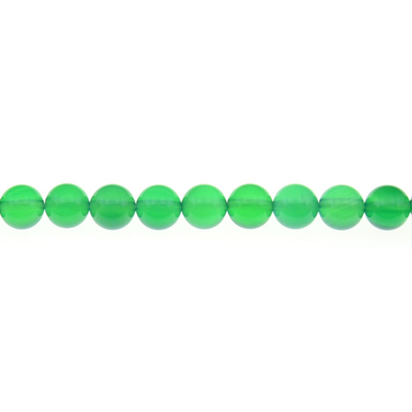 Green Onyx Round 8mm - Loose Beads
