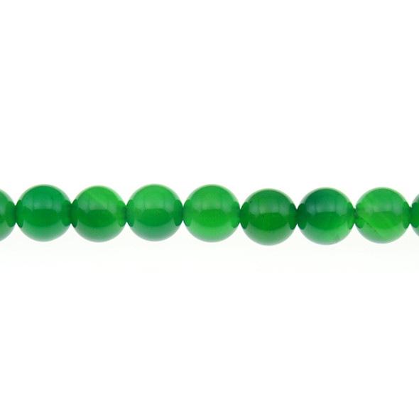 Green Onyx Round 10mm - Loose Beads