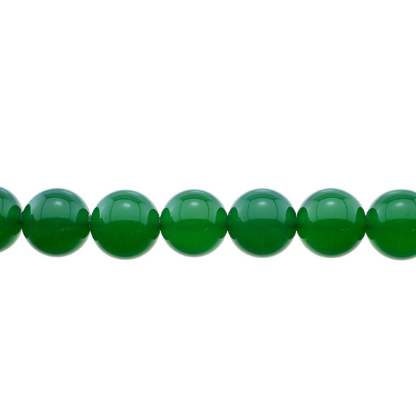 Green Onyx Round 12mm - Loose Beads