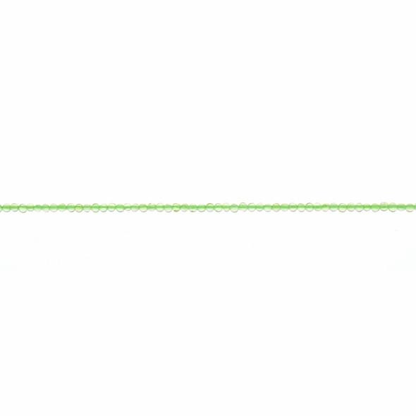 Peridot Round 2mm - Loose Beads