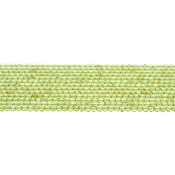 Peridot Round 3mm - Loose Beads