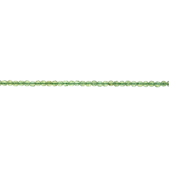 Peridot Round 3mm Faceted - Loose Beads