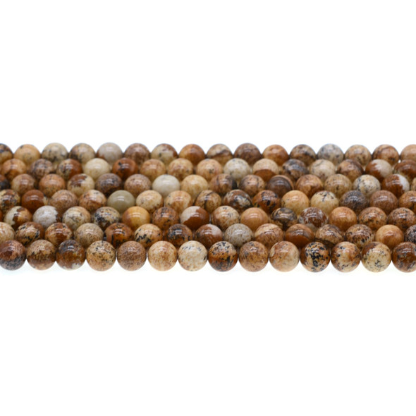 Picture Jasper Round 6mm - Loose Beads