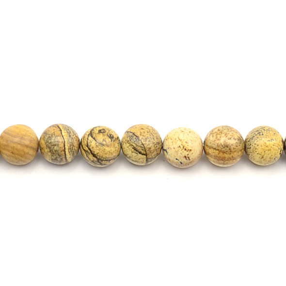 Picture Jasper Round 10mm - Loose Beads