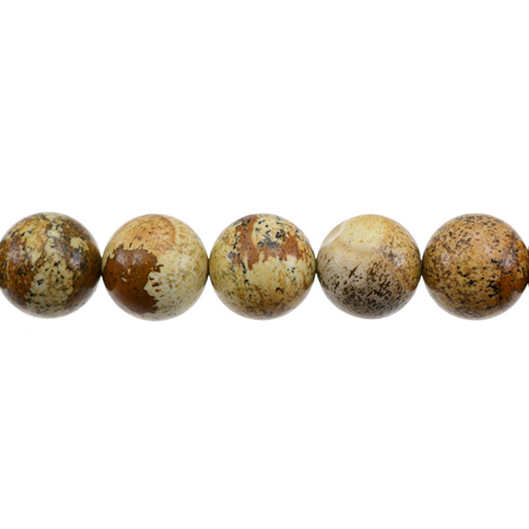 Picture Jasper Round 14mm - Loose Beads
